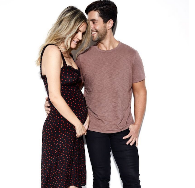 Josh Peck and Paige O'Brien announce they're expecting on Instagram