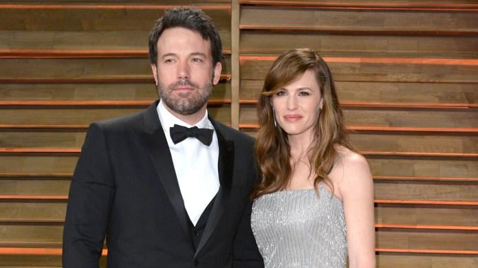 Ben Affleck and Jennifer Garner arrive