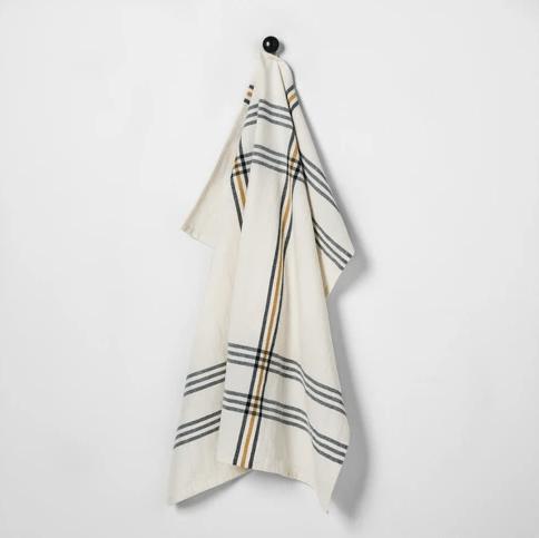 plaid towel