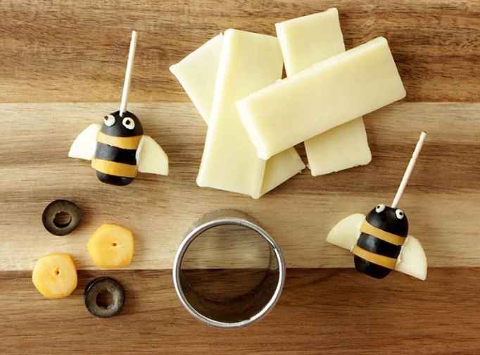 Cheese & Olive Bees