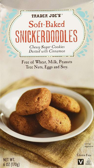 Soft Baked Snickerdoodles