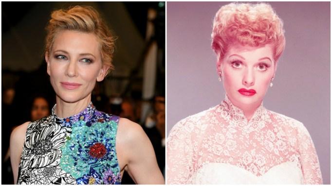 Cate Blanchett, Lucille Ball