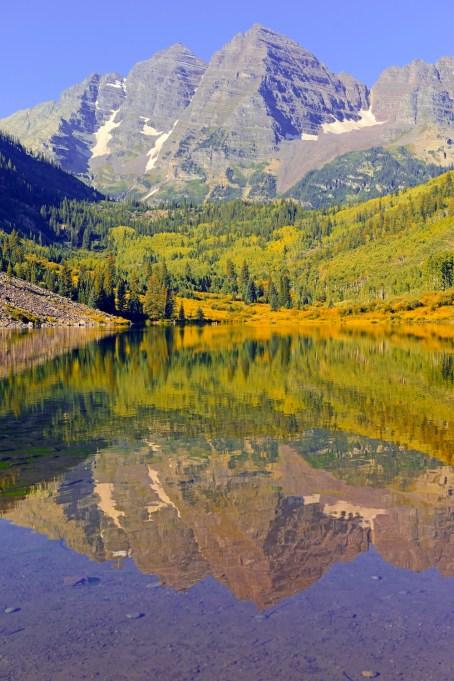 Maroon Bells, Rocky Mountains, Colorado