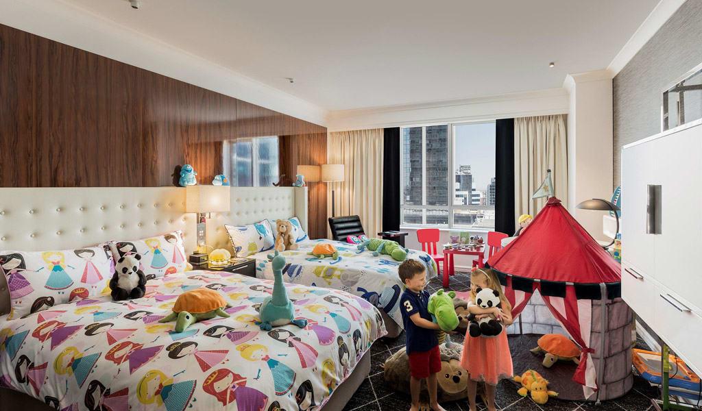 Where to sleep in Sydney: Swissotel Kid's Room