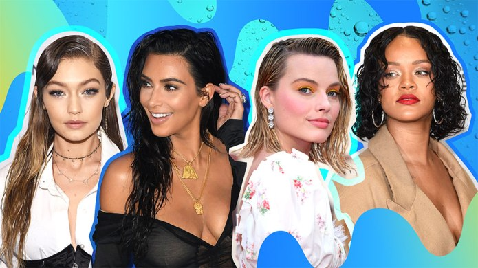 How to Master the Wet-Hair Look