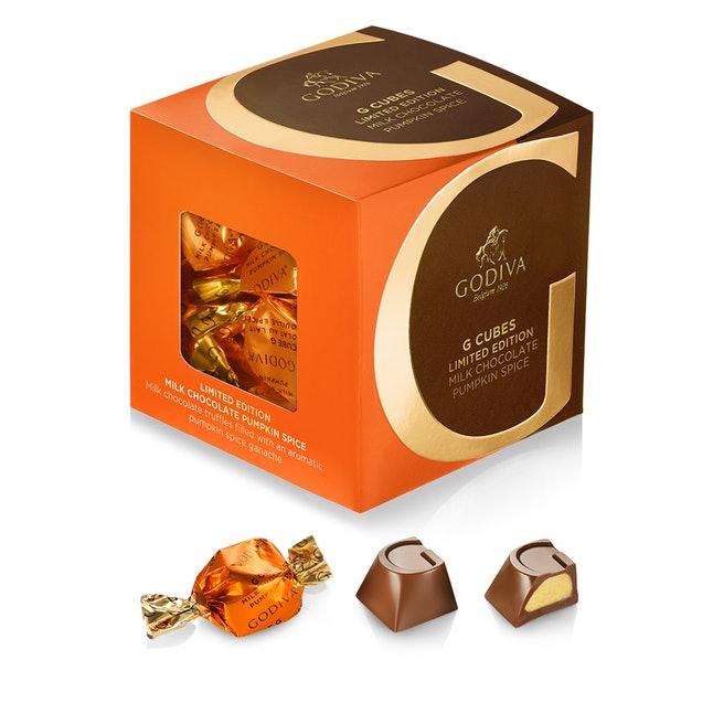 godiva pumpkin spice chocolates