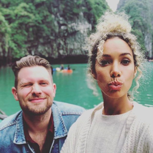 Leona Lewis on vacation with Dennis Jauch