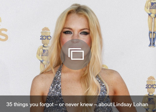 Lindsay Lohan slideshow