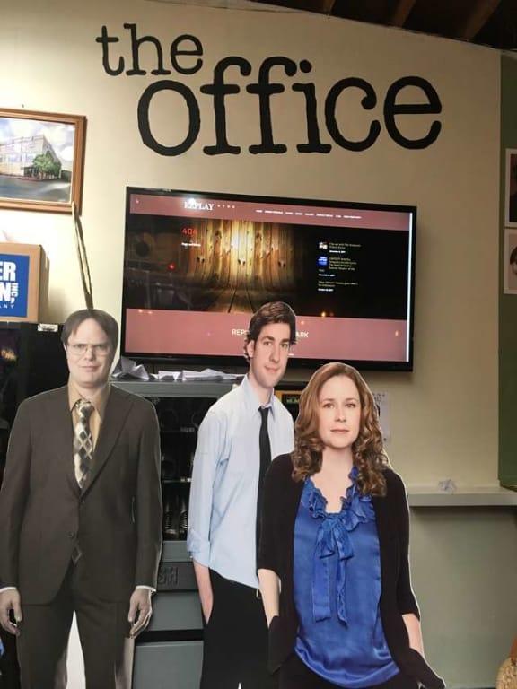 'The Office' pop-up bar