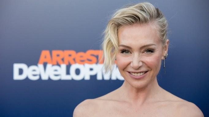 Portia de Rossi attends the 'Arrested Development' season five premiere