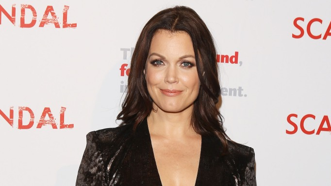 Bellamy Young attends 'Scandal' live stage reading