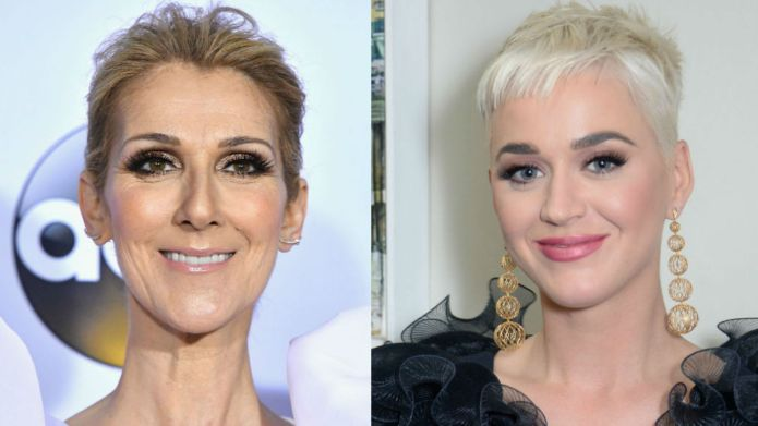 Celine Dion, Katy Perry