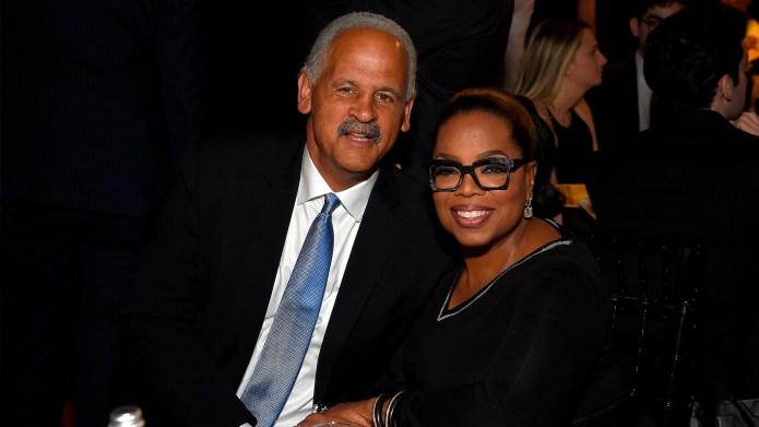 Stedman Graham and Oprah Winfrey attend