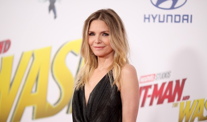 Michelle Pfeiffer arrives at the 'Ant-Man and the Wasp' premiere