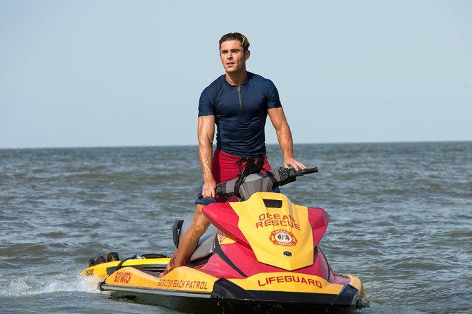 Zac Efron in Bay Watch remake