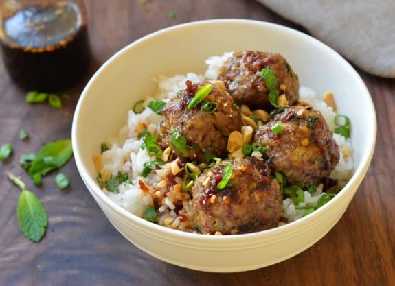 Vietnamese-style meatballs