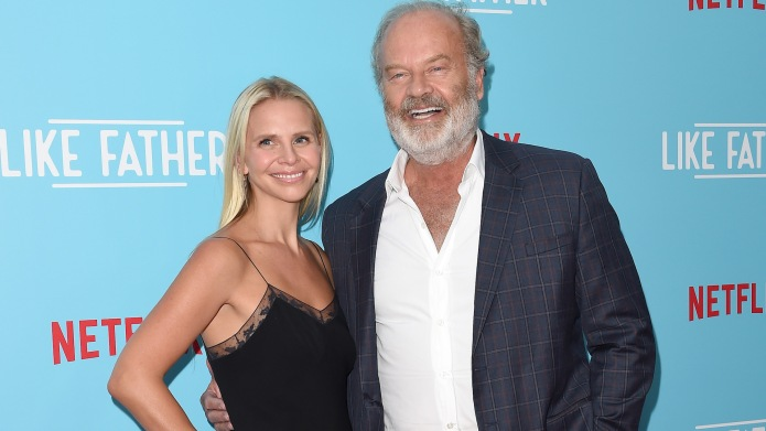 Kelsey Grammer and Kayte Walsh arrive