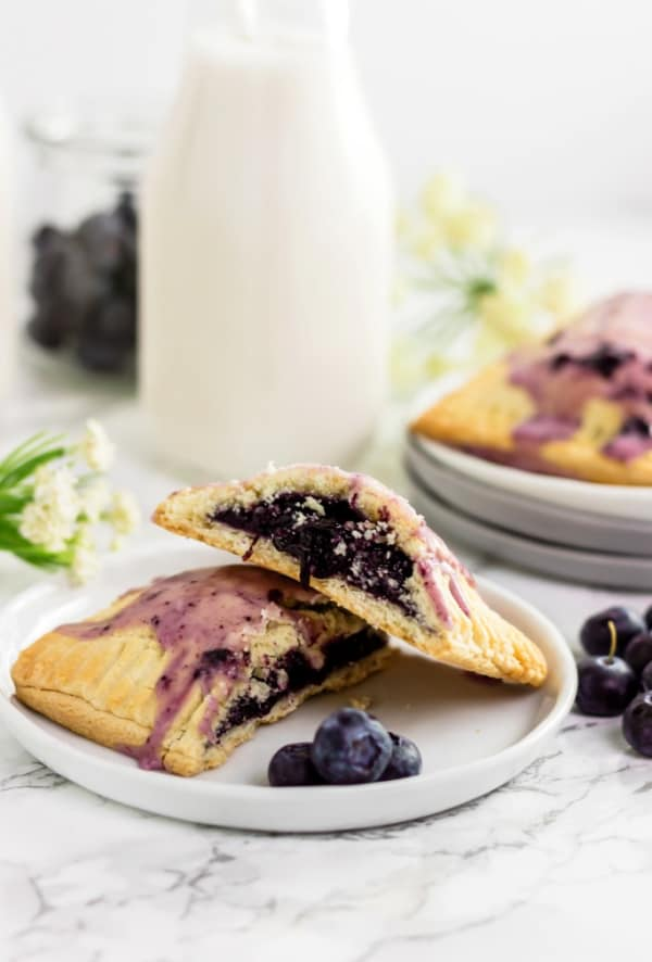 Paleo blueberry pop tarts