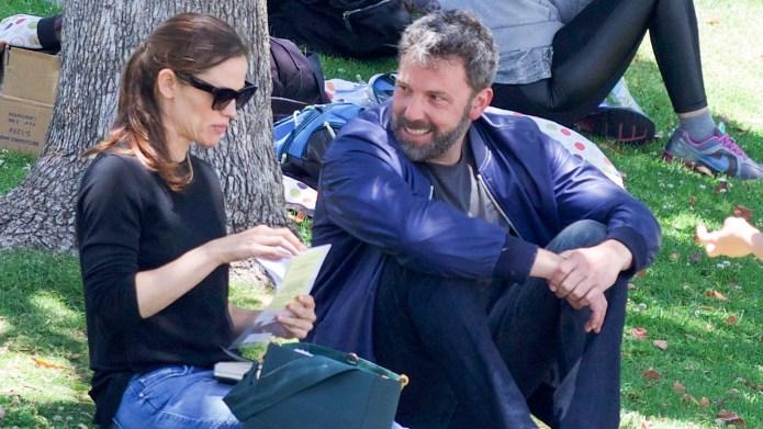 Jennifer Garner and Ben Affleck are