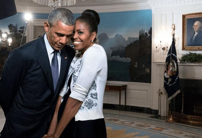 Barack and Michelle Obama Beyoncé Instagram post