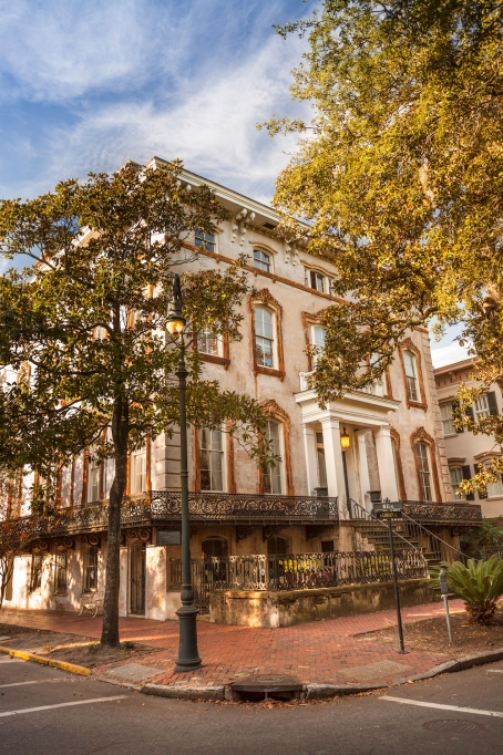 Savannah, Georgia in the fall