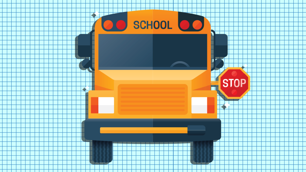 School Bus Stopping - Back to