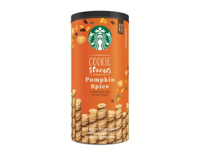 pumpkin spice cookie straws