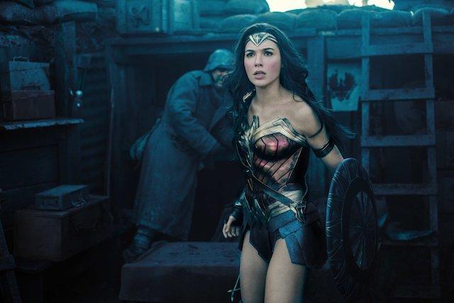 Still of Gal Gadot as Wonder Woman in 'Wonder Woman'