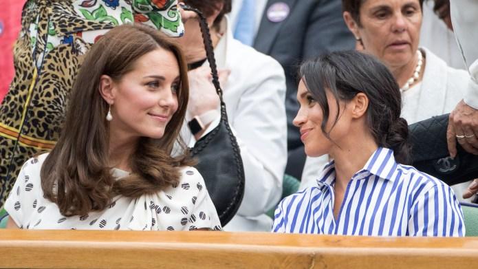 Kate Middleton & Meghan Markle at