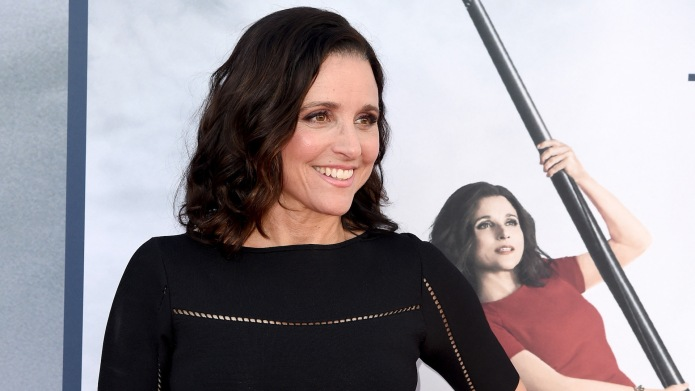 Julia Louis-Dreyfus arrives at HBO's 'Veep'