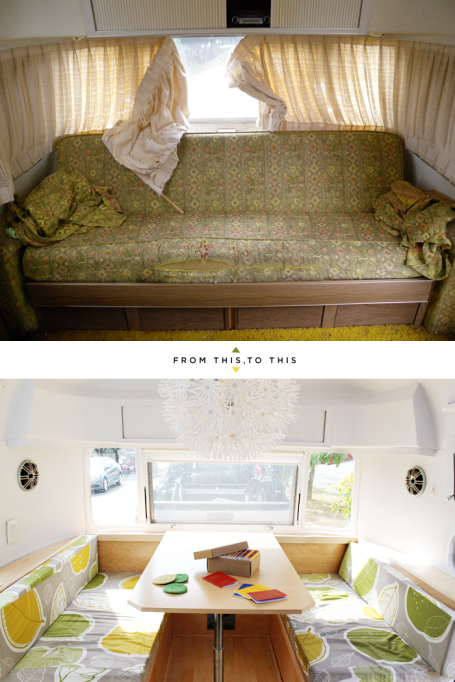 Before after airstream photo