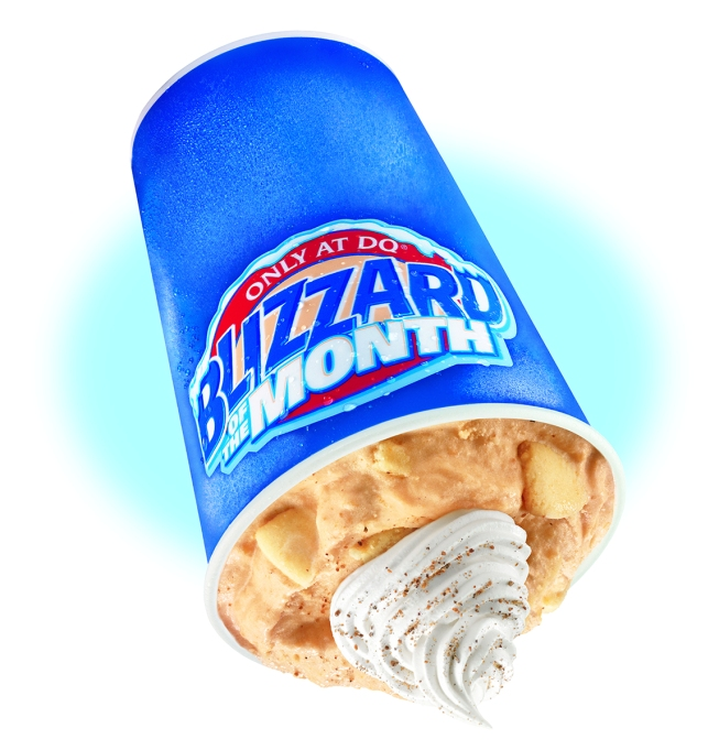 pumpkin blizzard