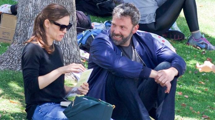 Ben Affleck and Jennifer Garner in