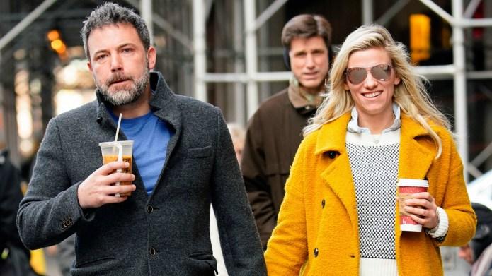 Ben Affleck and Lindsay Shookus