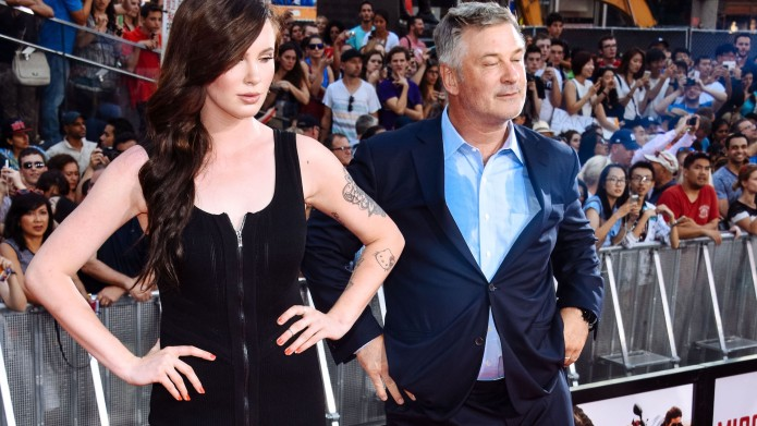 Alec Baldwin and daughter Ireland Baldwin