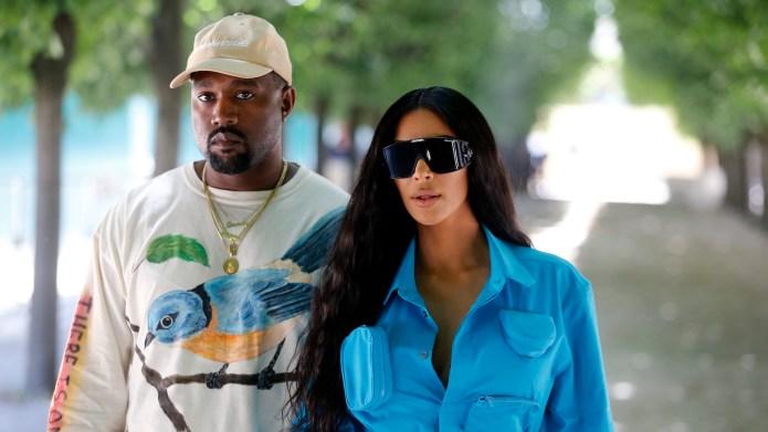 Kim Kardashian West & Kanye West