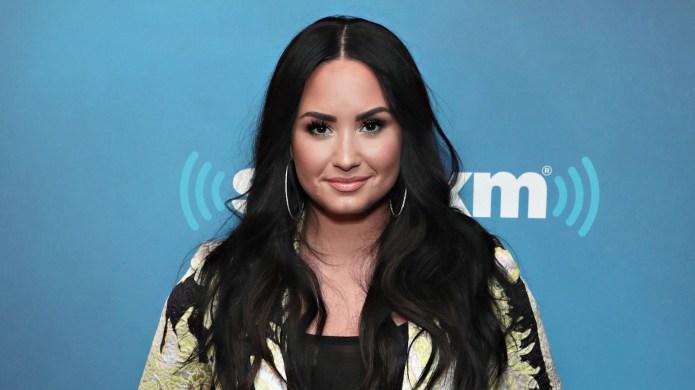 Demi Lovato visits SiriusXM studios