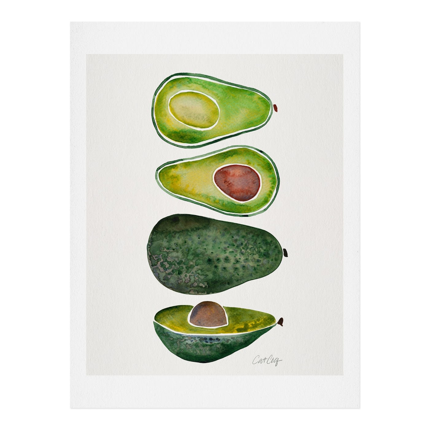 Cat Coquillette Avocado Print