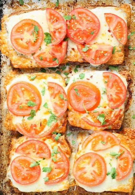 Tomato Cheese Toasts