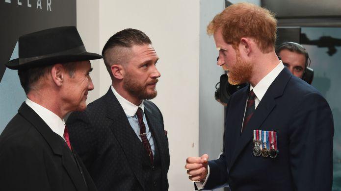 Tom Hardy, Prince Harry