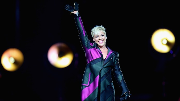 Pink performs at Qudos Bank Arena
