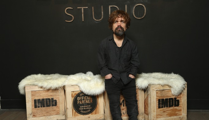 Peter Dinklage at IMDB Studios at Sundance Film Festival