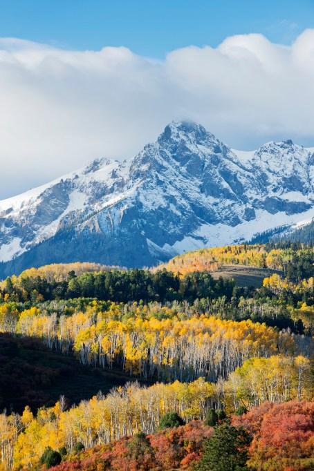 Aspen, Colorado in the fall