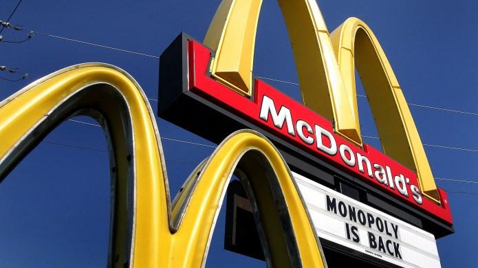 McDonald's Monopoly Game