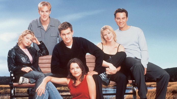 The cast of television's 'Dawson's Creek'