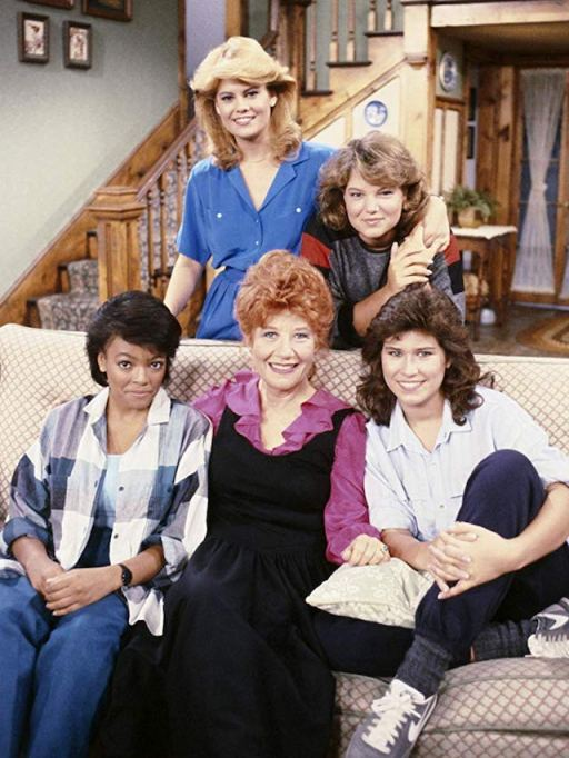 Still of Charlotte Rae and the cast of 'Facts of Life'