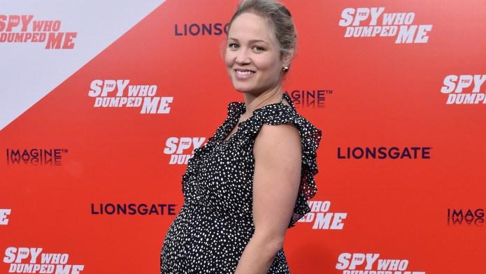 Erika Christensen Pregnant at The Spy