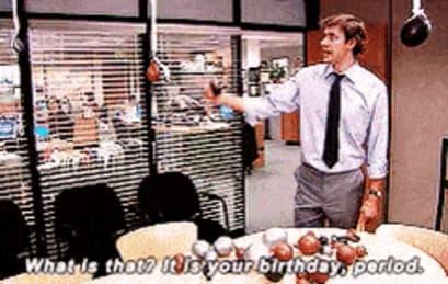'The Office' birthday GIF