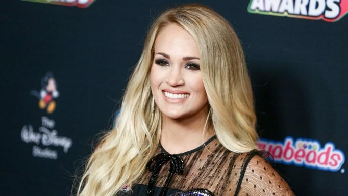 Carrie Underwood attends 2018 Radio Disney Music Awards