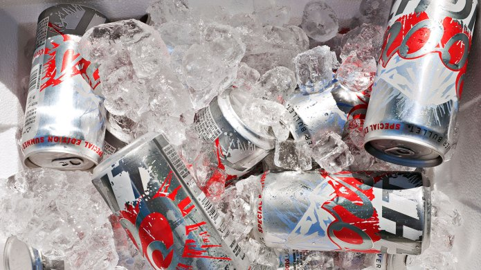 Coors Light in a cooler